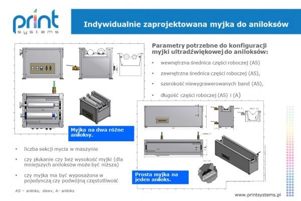 Indywidualnie zaprojektowana myjka do aniloksów_Print_Systems