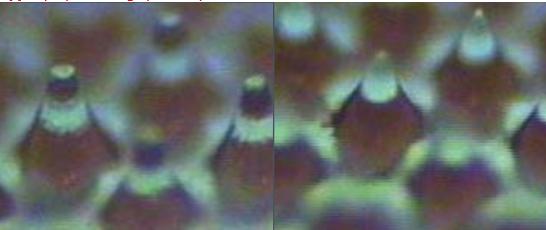 Zdjęcie przykładowego punktu z płaskim wierzchołkiem_PrintSystems