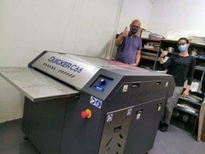 Instalacja maszyny QUICKER C66 w Serbii