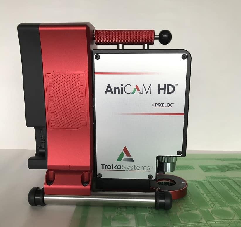 Troika AniCam. pomiar aniloksów, pomiar wałków rastrowych,